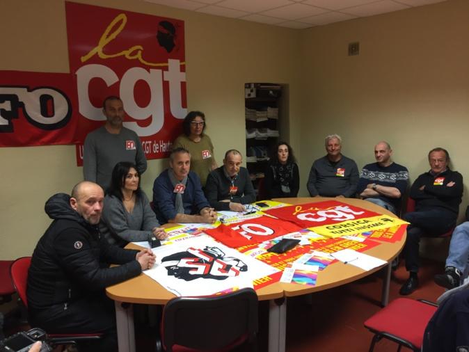 Contre la réforme des retraites, l'intersyndicale CGT/FO/FSU/STC et les Gilets Jaunes ont annoncé des actions dès ce mercredi soir
