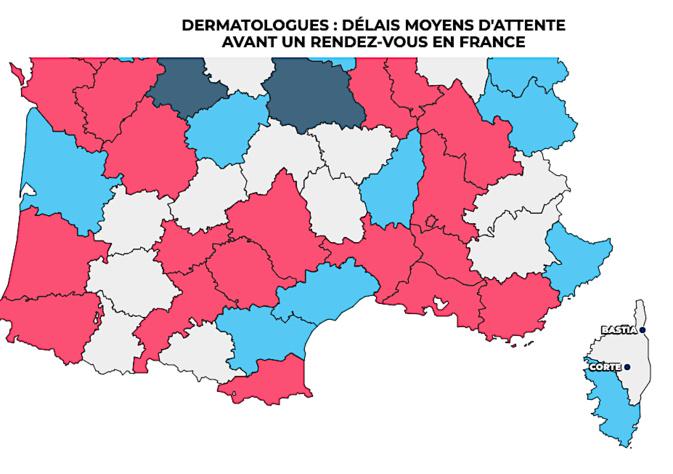 Haute-Corse : un véritable désert médical pour la dermatologie