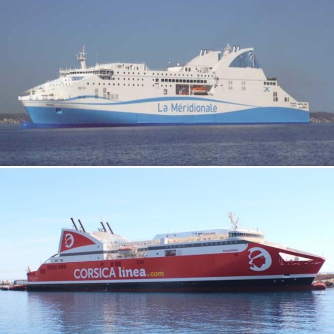Délégation de service public : Corsica Linea et la Méridionale annoncent avoir trouvé un accord