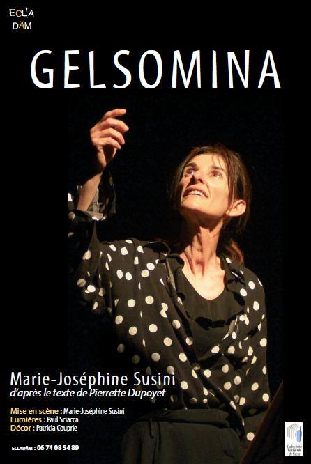 Marie-Joséphine Susini, superbe dans Gelsomina