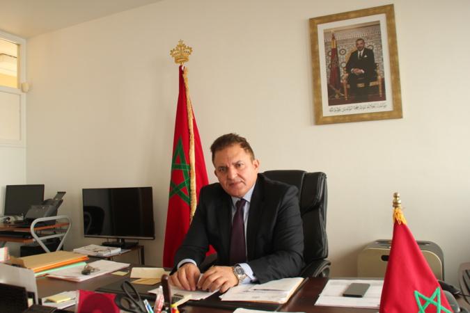 Mohamed Harrak, consul général du Maroc à Bastia