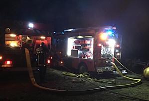 Un chalet détruit par un incendie à Calenzana