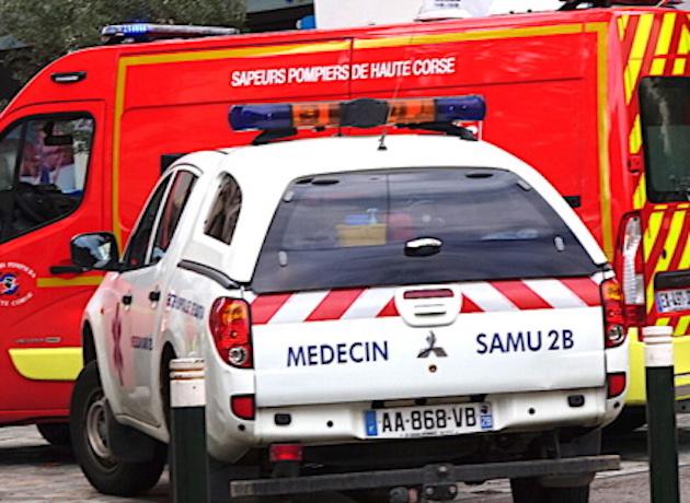 Furiani : Un adolescent en arrêt cardio-respiratoire après une collision