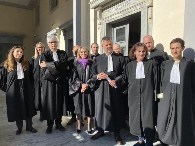 Depuis un mois les avocats de Bastia ont rejoint le mouvement de grève contre la réforme des retraites.