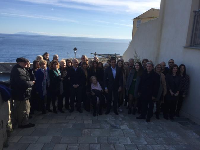 Jean-Marin Mondolini avait choisi la Citadelle de Bastia pour présenter sa liste.