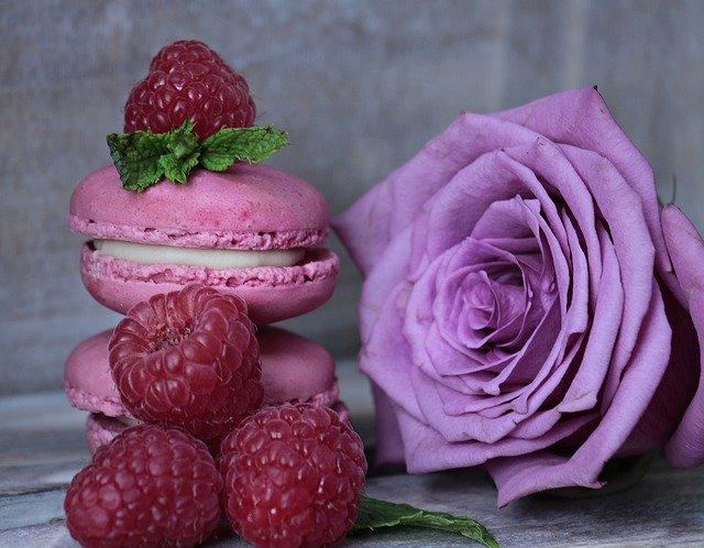A table : Les macarons de la Saint Valentin