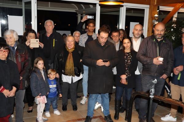 "Municipales : Claudine Orabona inaugure sa permanence d' ""Anima Calvese"""