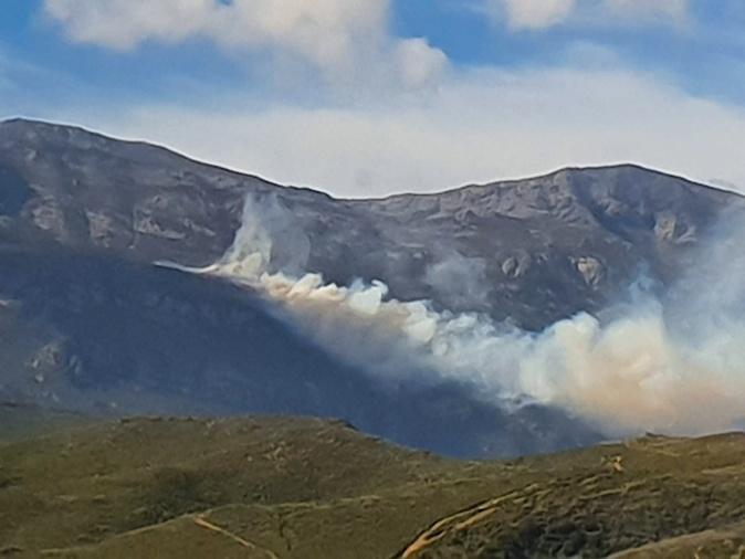 Pietracorbara : 50  hectares détruits, le feu progresse