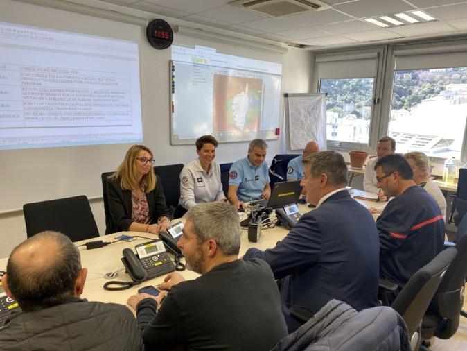VIDEO - Le préfet François Ravier fait le point sur les incendies en Haute-Corse
