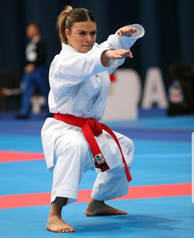Karaté : Une belle 5ème place au championnat d'Europe pour la borgaise Cassandra Sampieri