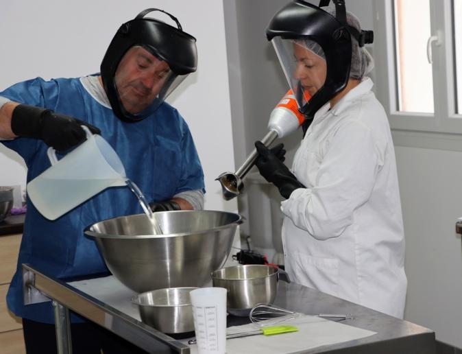 La savonnerie de la Figarella au Salon de l'Agriculture à Paris