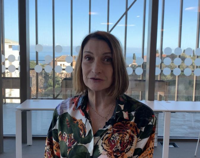 Patricia Gattaceca chante Carmini de Paul Valéry à l'Alb'Oru de Bastia