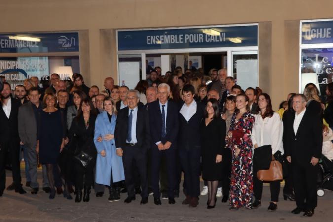 """Près de 500 personnes à Calvi pour l'inauguration et la présentation de la liste """"Ensemble pour Calvi - Oghje pè dumane"""""""