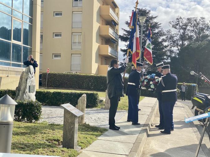 Les gendarmes de Bastia rendent hommage à leurs morts