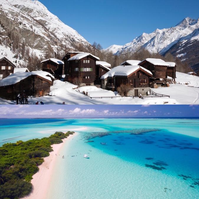 Des vacances d'hiver entre soleil et montagne pour les Bastiais
