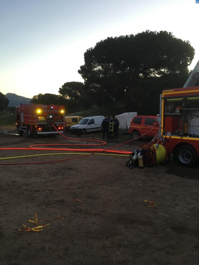 Calvi : 500 ballots de foin détruits par un incendie
