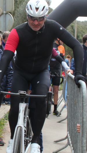 Cyclisme : victoire de Castelli au CLM de Bonifacio
