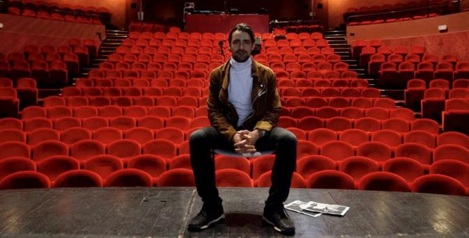 Gray Orsatelli sur les planches du Théâtre de Bastia