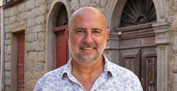 Don-Mathieu Santini, candidat à l'élection municipale de Purtivechju et chef de file de la liste « Portivechju da fà, une vision, un projet, un avenir ».