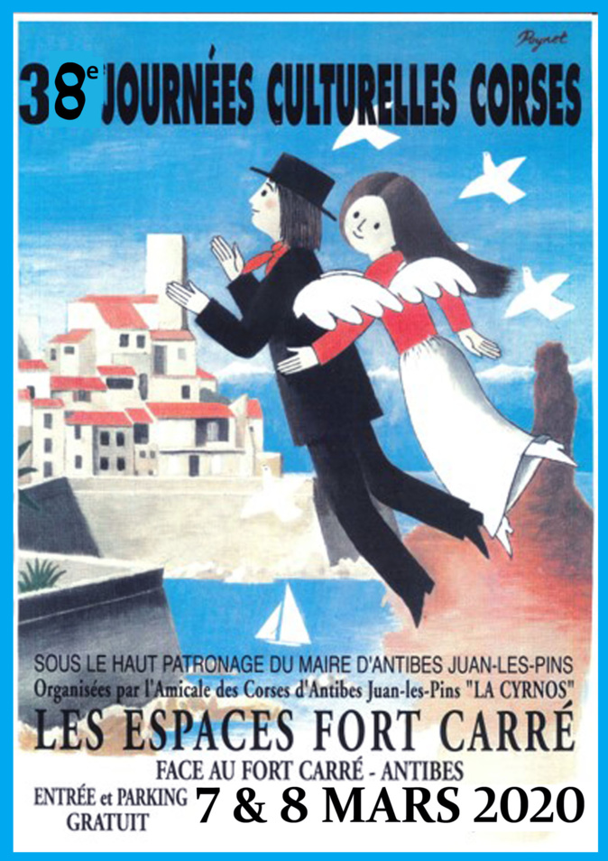 Les 38e Journées Culturelles Corses d'Antibes reviennent les 7 et 8 mars
