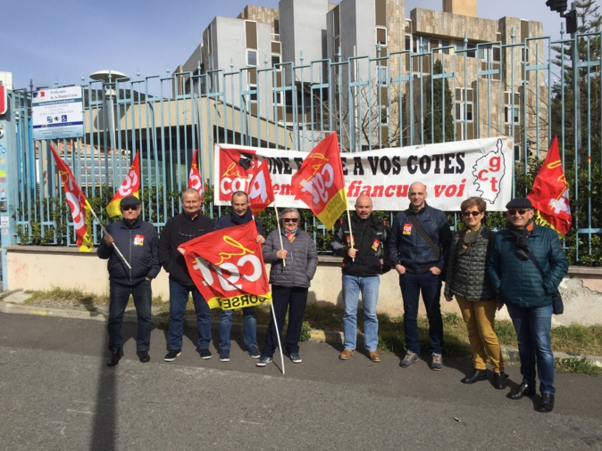 Réforme des retraites : la CGT ne lâche rien à Bastia