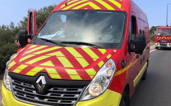 Folelli, un accident fait cinq blessés