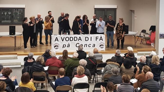 Municipales à Conca : Guy Profizi a présenté sa liste