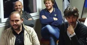 Le binôme tête de listes : Julien Paolini (à droite) et François Martinetti