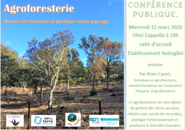 Olmi Cappella : une conference agroforesterie le 11 mars
