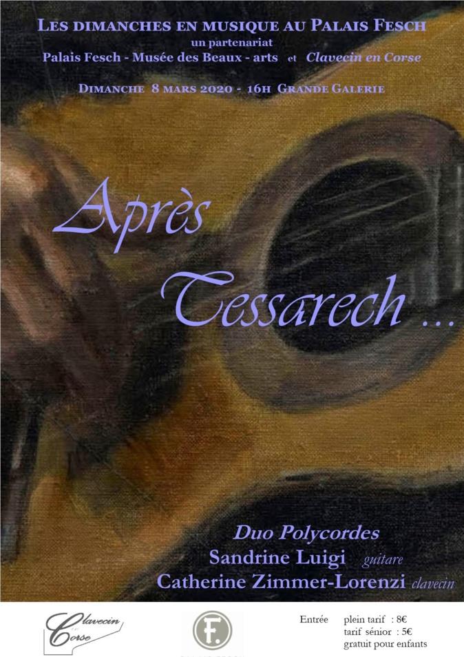 Musique classique : « Après Tessarech », un concert exceptionnel au musée Fesch, dimanche