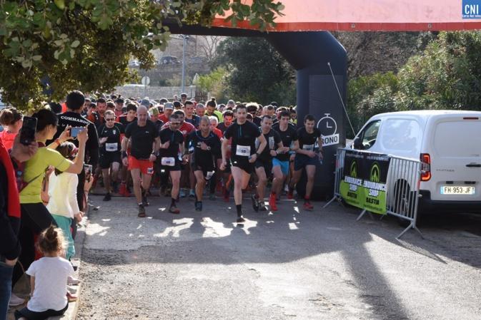 Le succès au rendez-vous de la 9ème édition du trail de Palazzi à Santa-Reparata-di-Balagna