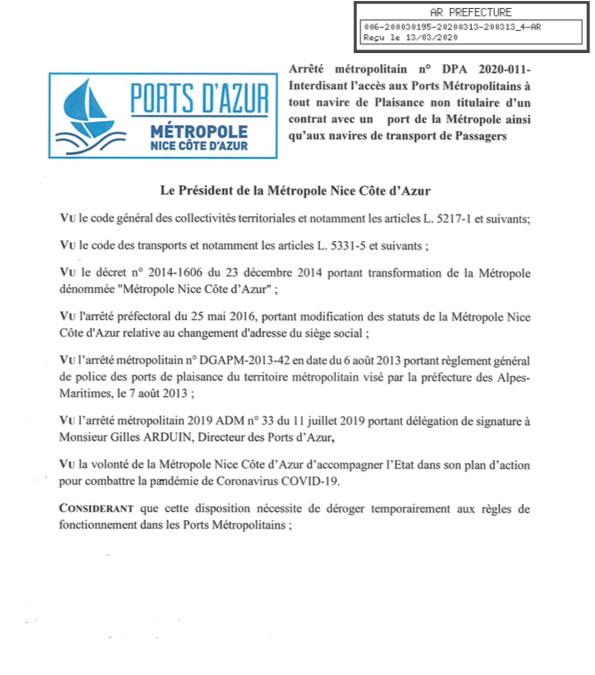 Le maire de Nice Christian Estrosi positif — Coronavirus