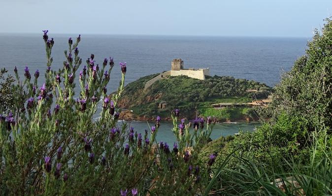 La photo du jour : le fortin de Girolata