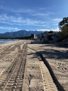 La plage de Calvi