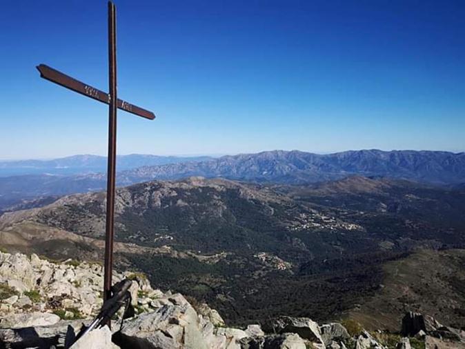 La photo du jour : au sommet du San Parteu