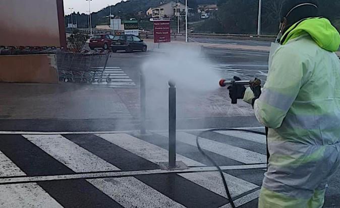 Covid-19 - Porto-Vecchio : les lieux les plus fréquentés désinfectés