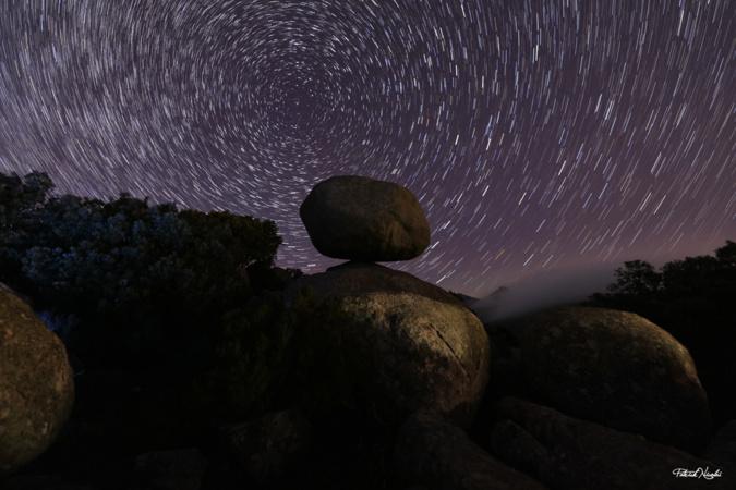 La photo du jour : sur les hauteurs du col de Bacinu