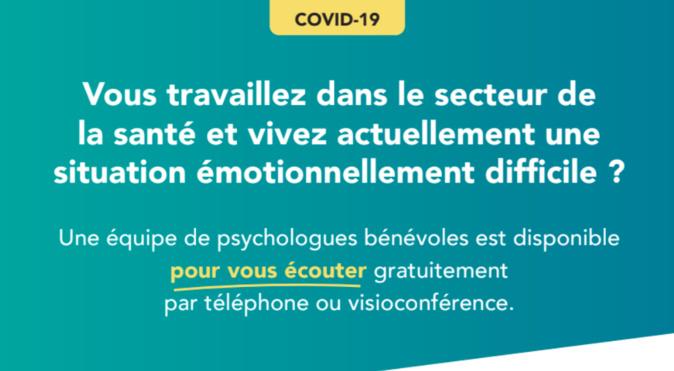 PsyForMed : Des psychologues et psychiatres bénévoles écoutent les soignants et les personnes confrontés au Covid-19