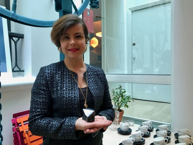 La réalisatrice Mounia Meddour dans les locaux d'UNIFRANCE à Paris - ©Arte Mare