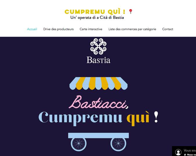 Bastiacci, cumpremu quì : un site pour favoriser l'achat local en temps de pandémie