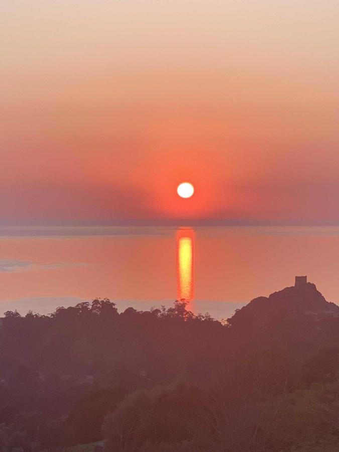 Coucher de Soleil dans le golfe de Porto