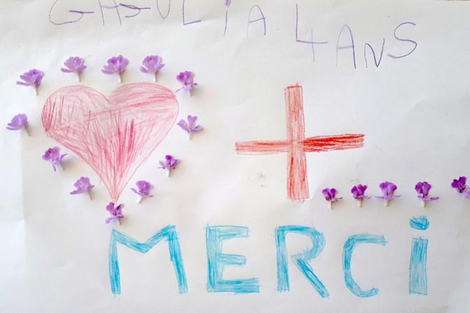 Ils combattent tous les jours le coronavirus : l'hommage de l'école Gaudin au personnel soignant