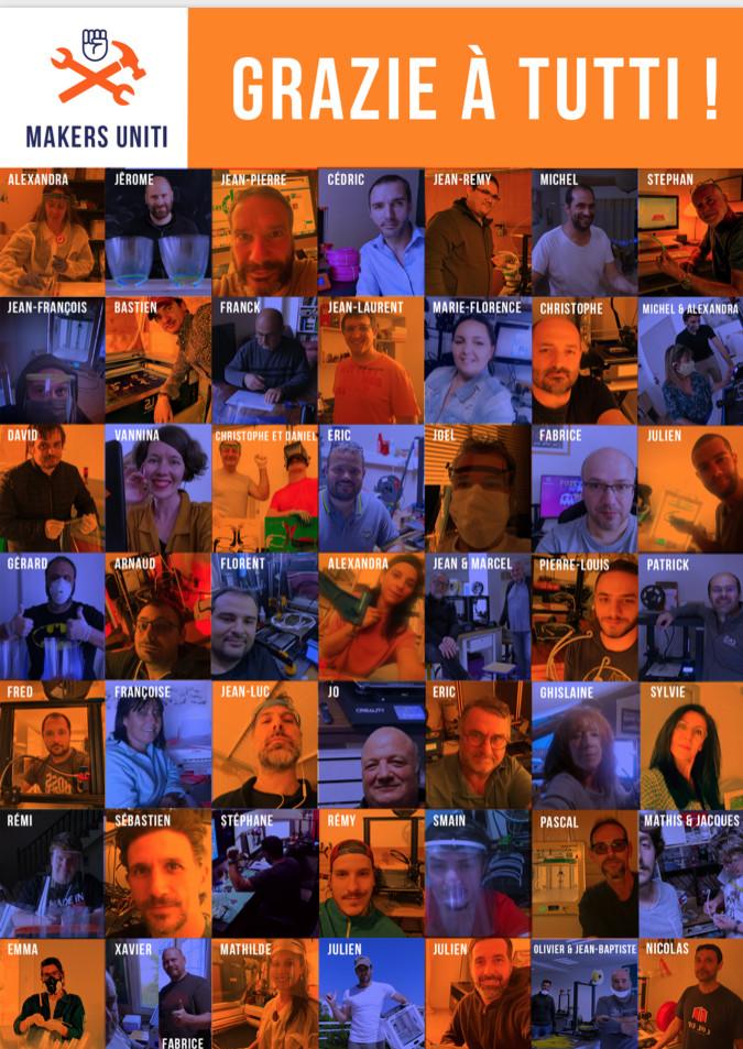 Covid-19- Le réseau Makers Uniti, qui a produit et distribué 10 000 visières, lève le pied