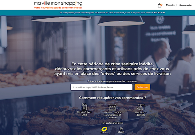La Poste de Corse soutient les commerçants via la plateforme « Ma Ville Mon Shopping »