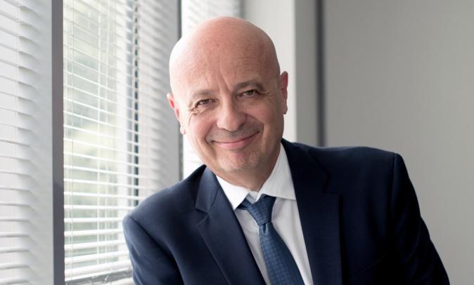 Luc Bereni, président du directoire de la compagnie aérienne Aircorsica.