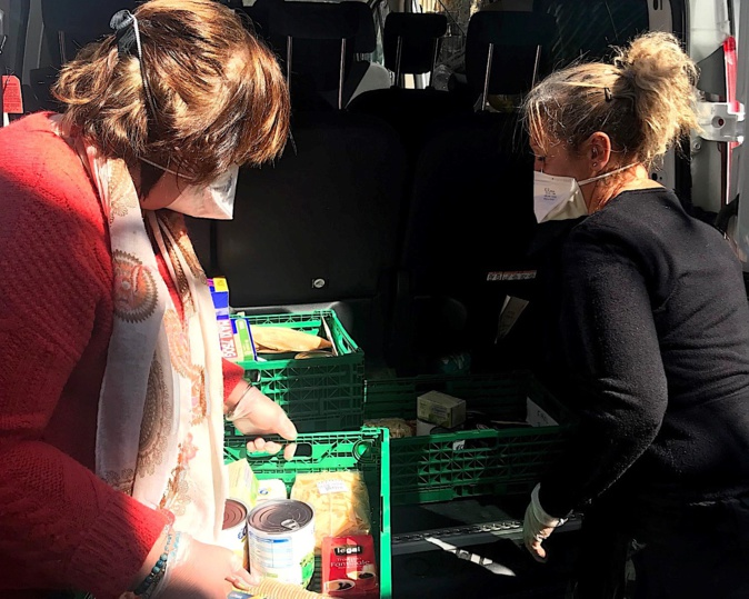 """Confinement - Aide alimentaire à Porto-Vecchio : une trentaine de personnes """"servies"""" à domicile"""