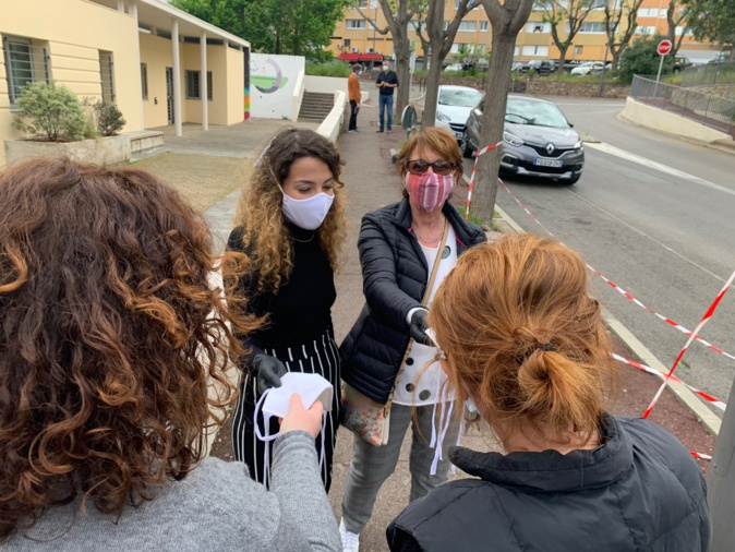 Bastia : Les fées de l'Aurore fabriquent et offrent 200 masques aux infirmiers libéraux