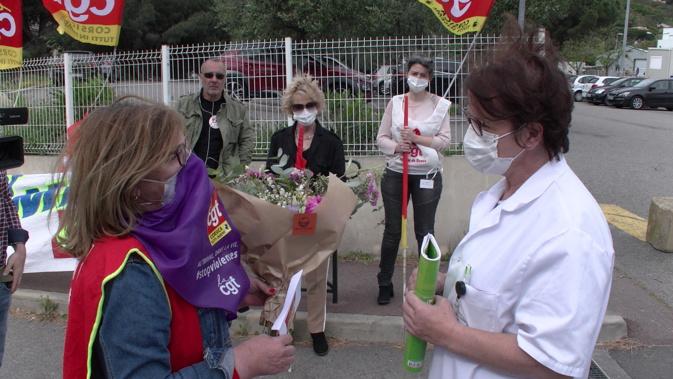 1er mai : La CGT défile à Bastia malgré le confinement !