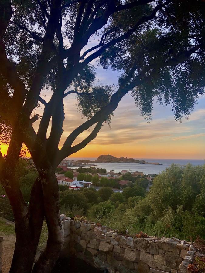 Coucher de Soleil sur l'Ile rousse (Roxane Pellegrini)
