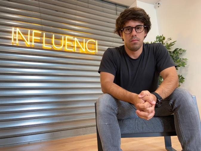 Anthony Bressy a créé en début d'année Influenci, une société de communication qui veille sur la E-reputation des entreprises.
